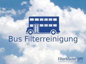 Bus Partikelfilterreinigung