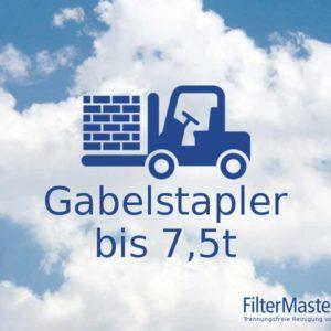 Filterreinigung Gabelstapler bis 7,5 t