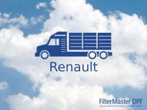 Filterreinigung Renault LKW