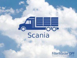Filterreinigung Scania LKW