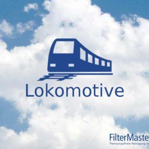 Lokomotive Filterreinigung