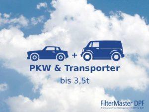Filterreinigung PKW + Transporter bis 3,5t