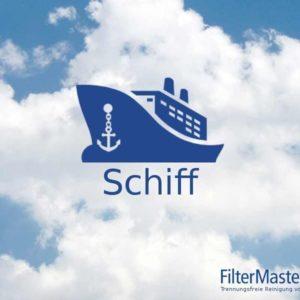 Schiffe Filterreinigung