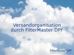 Partikelfilterreinigung Versand durch FilterMaster DPF