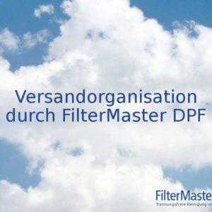 Versandorganisation durch FilterMaster DPF