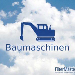 Baumaschinen Filterreinigung