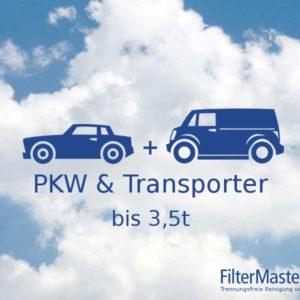 PKW und Transporter Filterreinigung bis 3,5t