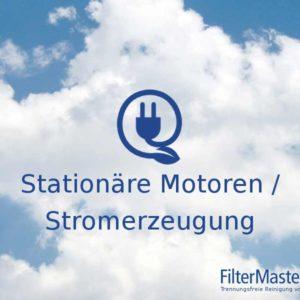 stationäre Motoren Filterreinigung